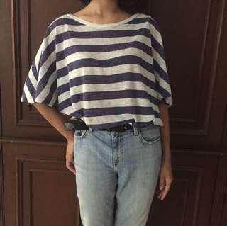 Zara stripes t shirt (reprice)