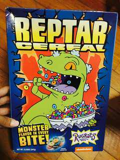 Limited stocks: Reptar cereal