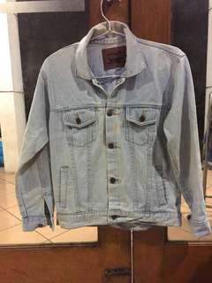Oversized jacket denim levis