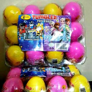 🚚 Egg Toy Popping Candy