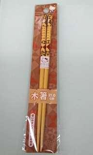 🇯🇵日本 Hello Kitty 木筷子