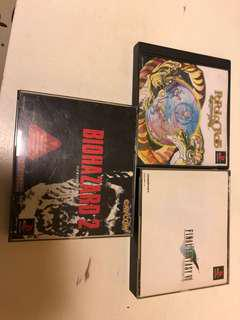 Ps1 game x3