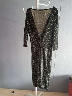 zara dress size L