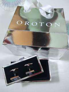 Oroton cufflinks