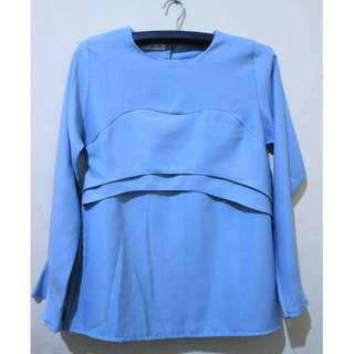 Mayoutfit - Sky Blue Top