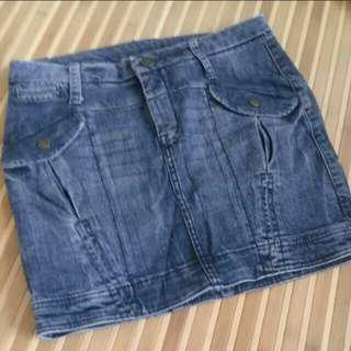 Denim Skirt MANGO jeans
