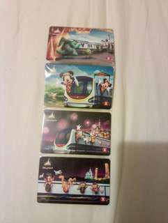 迪士尼纪念車票