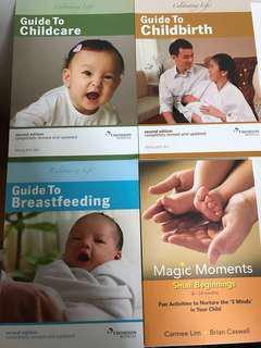 3 X Thomson medical guide books
