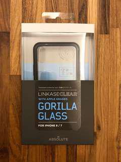 🚚 ABSOLUTE iPhone X 玻璃 手機殼 保護殼 APPLE 9H GORILLA玻璃