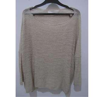 Sweater rajut loose (color : warm sand)