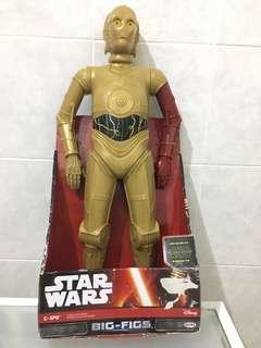 Jakks Pacific Big-figs Star Wars C-3PO Toy