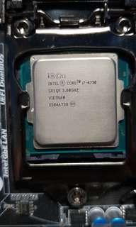 Intel i7 4790 haswell cpu