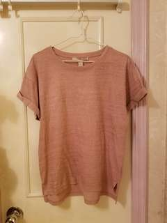 Forever 21 pink tee