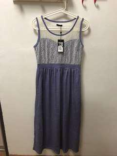 Brand new long dress with tag