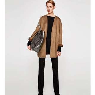 Authentic Zara Brown Coat