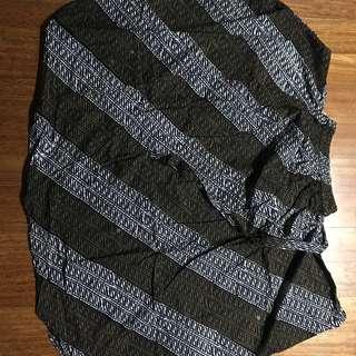 Wide batik cullote