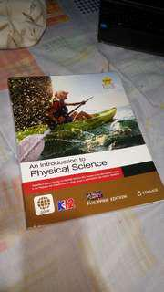 AN INTRODUCTION TO PHYSICAL SCIENCE  K12