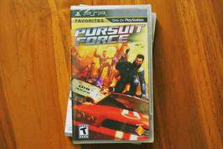 [NEW & SEALED] PSP Pursuit Force