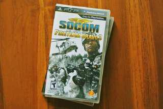 [NEW & SEALED] PSP SOCOM Fireteam Bravo 3
