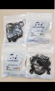 Singapore airlines ear phones