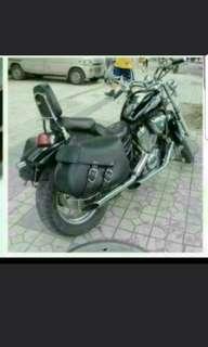 Harley Style Saddle Bag