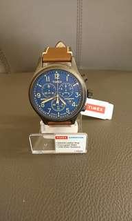 🚚 (降售)TIMEX 精準轉動三眼計時腕錶(還在固期內