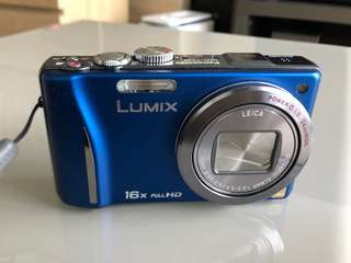 Panasonic DMC-TZ20 16x Superzoom Compact Camera with Fendi Case
