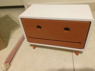 Toilet robot box big and small wooden stylish modern