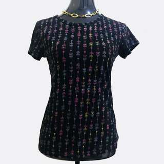 Black Shirt with Pretty arrow prints