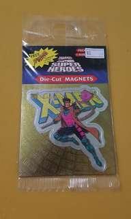 Marvel Superhero The X-men Gambit Die-cut magnet