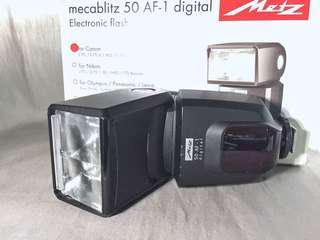 Metz 美斯 mecablitz 50 AF-1 digital閃光燈 (for Canon)