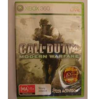 Xbox360遊戲 決勝時刻4:現代戰爭