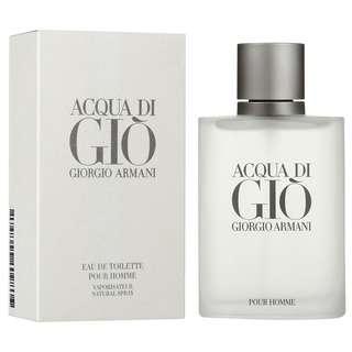 Acqua Di Gio Pour Homme Giorgio Armani Eau De Toilette 100ml