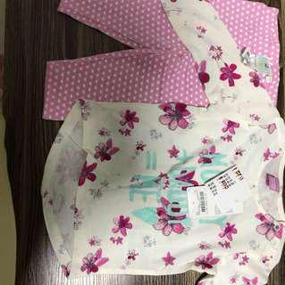 Disney baby cloth 9 mo