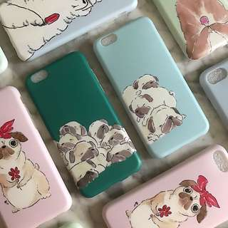 🚚 Sleeping Pugs Phone Case