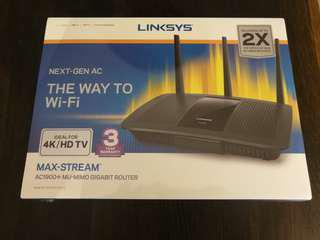 Linksys AC1900+ Router (EA7500)