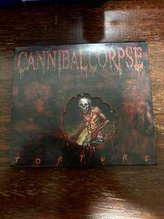 """Cannibal Corpse """"Torture"""" CD"""