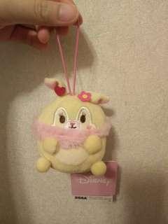 Disney miss bunny doll 迪士尼賓尼兔 小姐 公仔掛飾