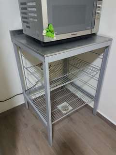 Kitchen Trolley Stainless Steel