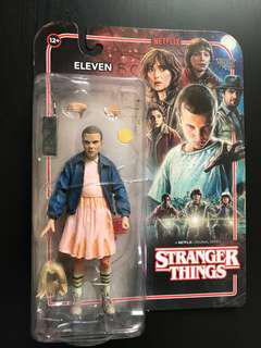 怪奇物語 stranger things 11 eleven 可動人偶
