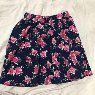 Rok Flare Floral Skirt