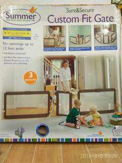 Summer Sure & Secure Custom Fit Gate for baby or kids