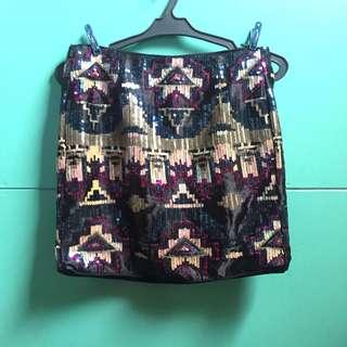 Forever 21 Sequined skirt