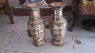 Vas antik peninggalan orang tua