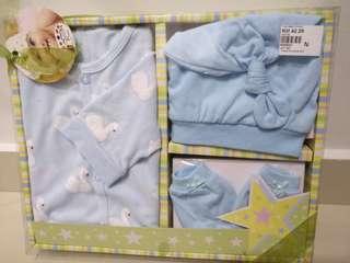 Gift for baby (blue color set) hamper