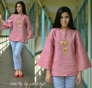 Linen blouse Jueqhayla