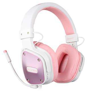 SADES Dpower(Pink) Gaming Headphone Headset with mic