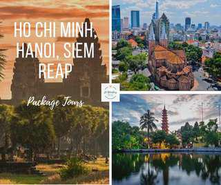 Affordable Vietnam and Cambodia Package 🇻🇳🇰🇭