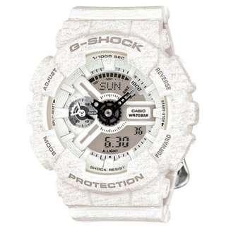 CASIO G-SHOCK S 110 series GMA-S110HT-7A 白色 GSHOCK GMAS110HT