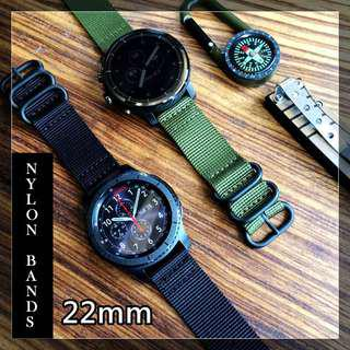 Samsung Gear S3 Classic Frontier Watch Braclet 22mm